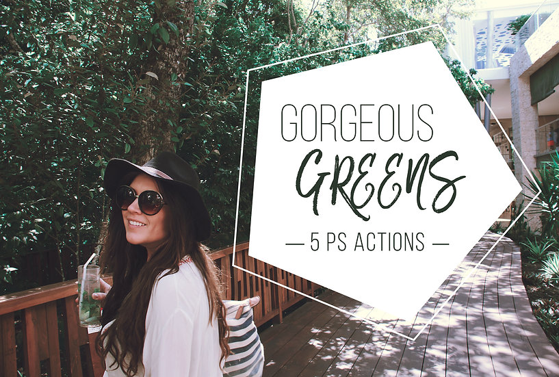 Gorgeous Greens Collection