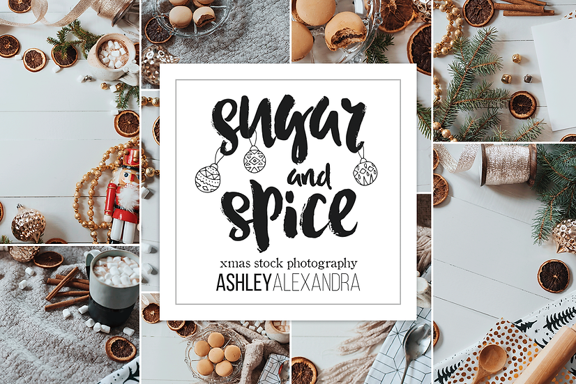 Sugar and Spice Christmas Photo Bundle