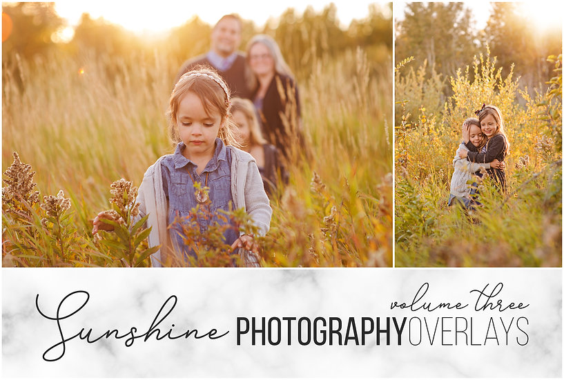 Sunshine Photography Overlays Vol.3