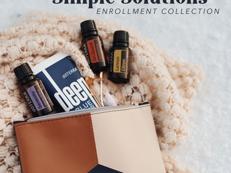 Let's chat about the Simple Solutions Enrolment Collection