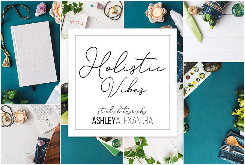 Holistic Vibes Stock Photo Bundle