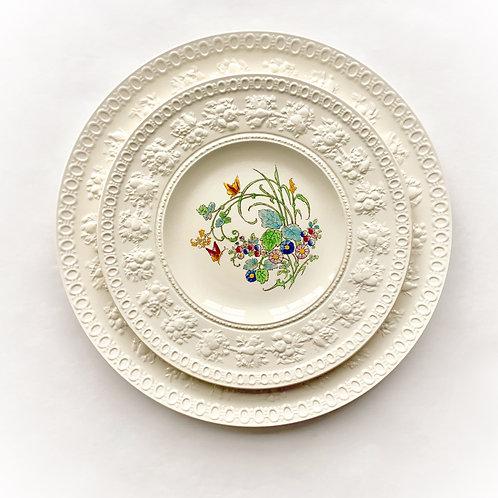 Antique L'Heure Bleue Wedgwood Salad/Dessert Plat