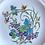 Thumbnail: Antique L'Heure Bleue Wedgwood Salad/Dessert Plat