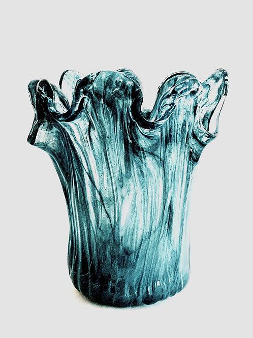 Storm  Murano Vase