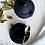 Thumbnail: Antique Wedgwood Black Basalt Espresso Set for 4