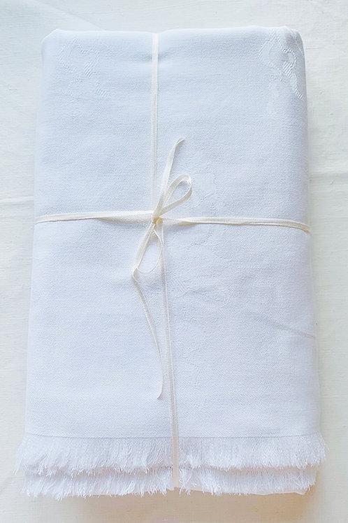 Rose Damask Tablecloth