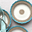 Thumbnail: Set of 4 Antique Royal Worcester Dessert Plates