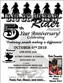 BBR 5th Anniversary Celebration October