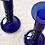 Thumbnail: Cobalt Salem Candlesticks, Set of 4