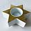 Thumbnail: Porcelain Gold Star Votive Candleholders