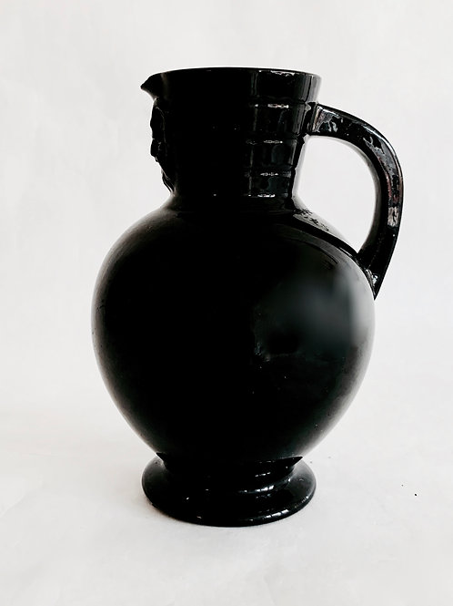 Antique Wedgwood Black Jug