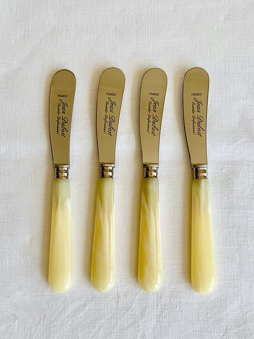 Butter knives set of 4