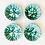 Thumbnail: Antique Gmundner Keramik Soup Bowls Set of 4