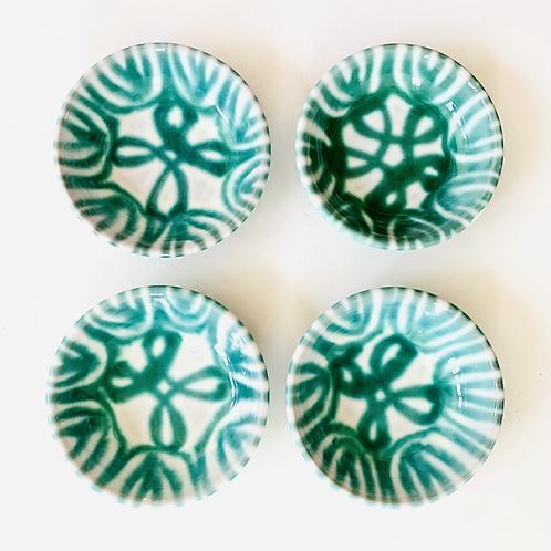 Antique Gmundner Keramik Soup Bowls Set of 4