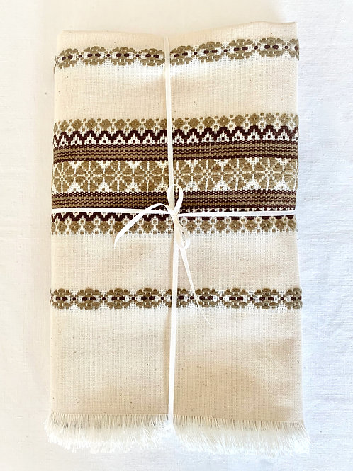 Rustic Tablecloth (Brown)
