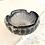 Thumbnail: Violet Smoke Silver Glass ashtray