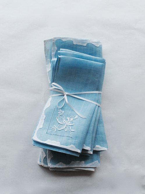 L'Heure Bleue Placemat, Napkins Set for 2
