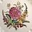 Thumbnail: Antique Spode Creamware Wild Rose Dinner Plates