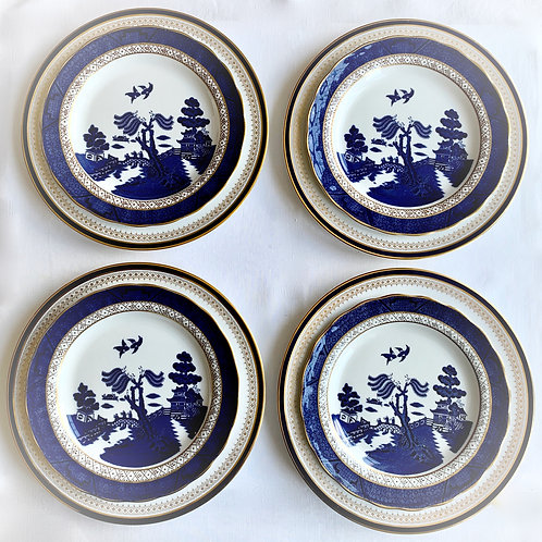 Shades of Blue Curated Dinner set for 4