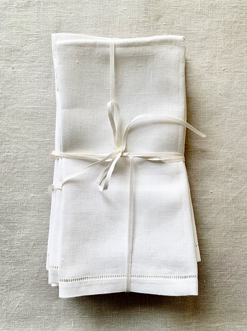 Irish Linen No-Nonsense Napkin Sets of 4