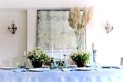 L'Heure Bleue Tablescape for 8