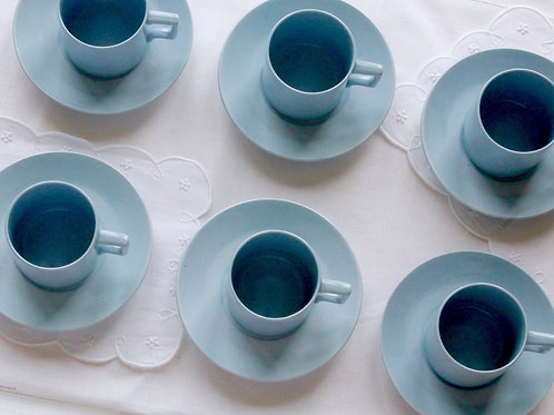 Wedgwood Blue Espresso Set of 6