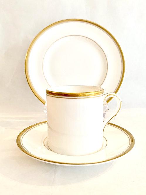 Espresso and Croissant Set