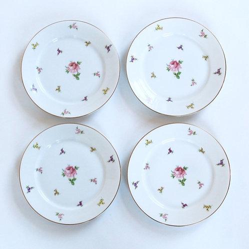 Rosenthal Posies Porcelain Salad Plate