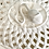 Thumbnail: Leeds Pottery Hand Made Open Basketweave Covered Vegetable Dish and Platter
