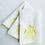 Thumbnail: Princess Handmade- Embroidered Hand Towels Set