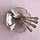 Thumbnail: Lobmeyr Quatrefoil crystal bowls