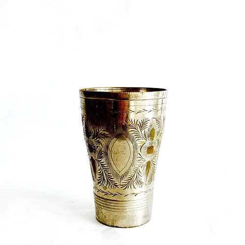 Antique Etched Vase
