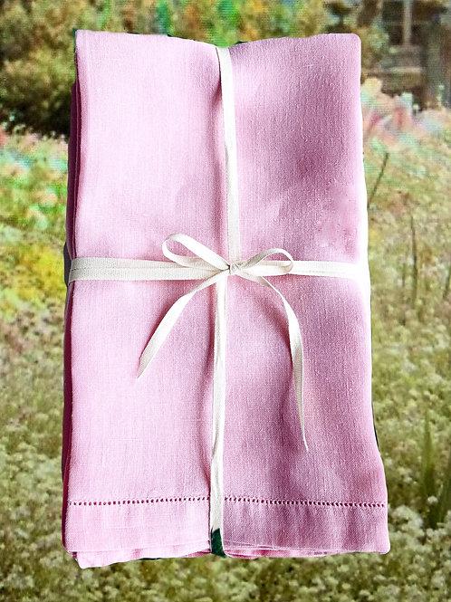 Pale pink Dinner  napkins