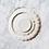 Thumbnail: White Staffordshire Dinner Set for 6