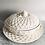 Thumbnail: Leeds Pottery Classic Creamware Basketweave Covered VegetableDish and Platter