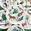 Thumbnail: Earthly Paradise Canape Plates Set of 6