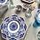 Thumbnail: Antique Minton Denmark Blue Dinner plates