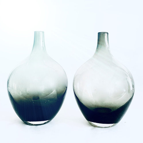 Pair of Antique Glass Jugs
