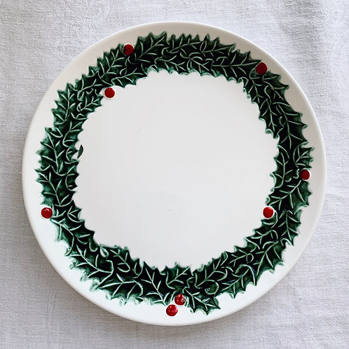 Vintage Holly Plates