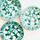 Thumbnail: Antique Gmundner Keramik Lunch Plates Set of 3