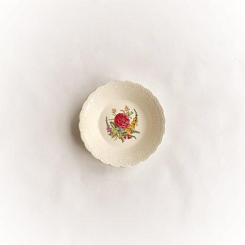 Spode Creamware Wild Rose Sauce Bowl