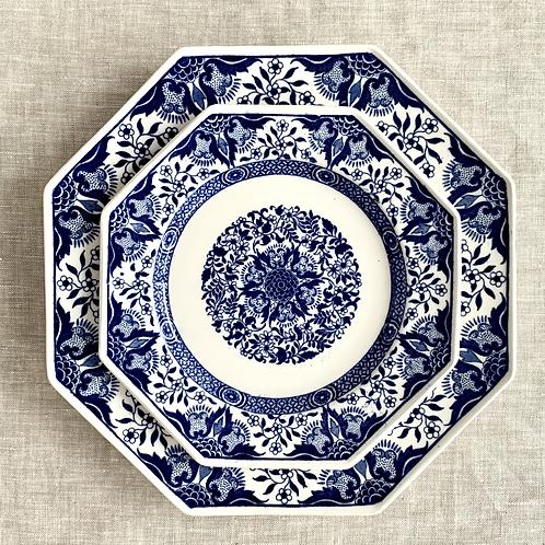 Antique Minton Denmark  Salad Plates