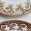 Thumbnail: Antique Transferware Bordered Luncheon Plates Set