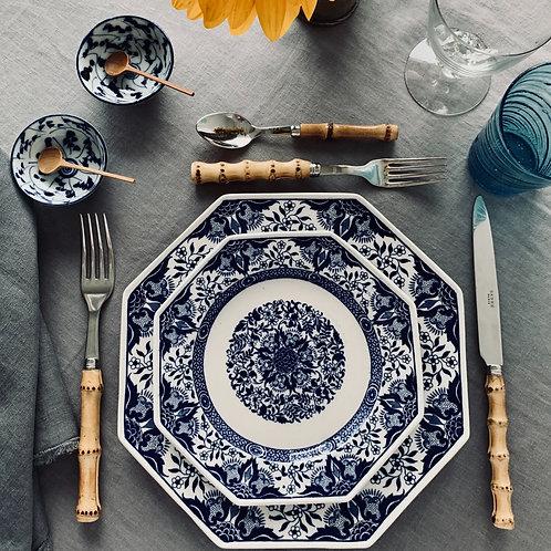 Antique Minton Denmark Blue Dinner plates