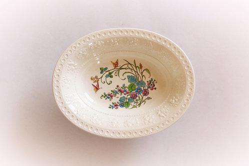 L'Heure Bleue Wedgwood Creamware Serving Bowl