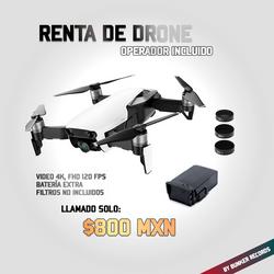Renta de drone