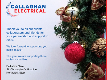Happy Christmas & New Year From Callaghan Electrical