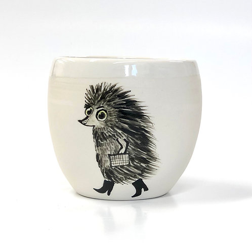 Hedgie in a hurry