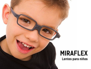 Miraflex: lentes para niños.