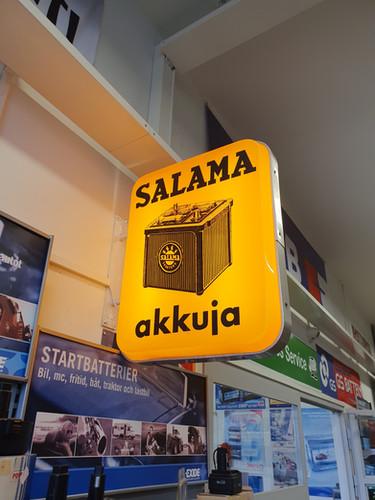 Wanha kunnon Salama!